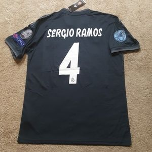 Sergio Ramos Real Madrid Jersey New Mens XL